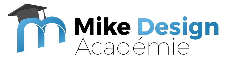 logo mike design académie